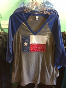 Texas Flag Raglan