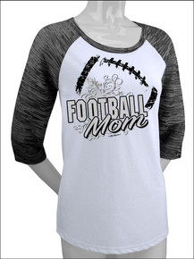 Football Mom Raglan