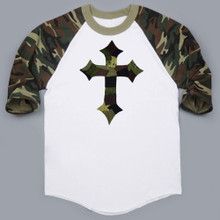 Raglan Camo Cross (Women)