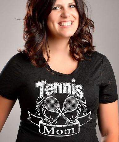 Tennis Mom Closeup