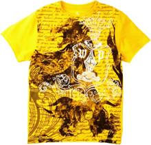 Griffon Crest Warrior Poet Short Sleeve Tee