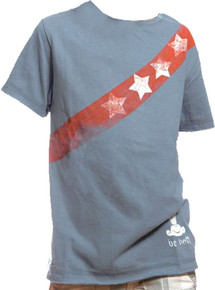 Red Writes the Blues Short-Sleeved Warrior Poet Tee (Front)