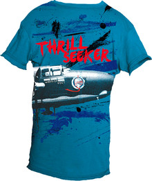 Thrill Seeker Short-Sleeved Warrior Poet Tee (Front)
