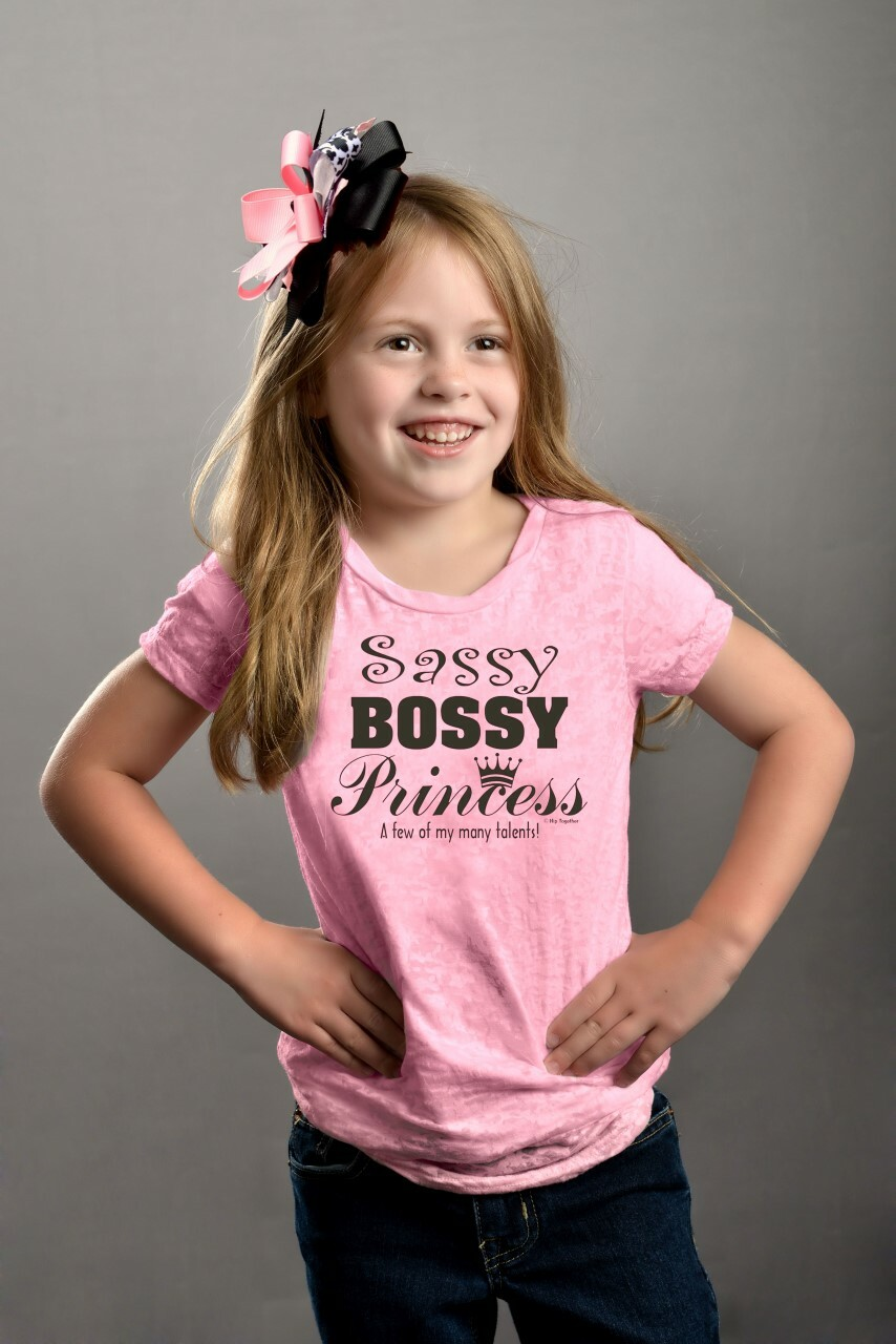 Sassy Bossy Princess Tween - Hip Together-3116