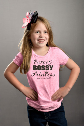 Tween Sassy Bossy Princess Burnout