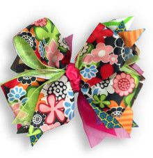 Camo Patchwork Bow