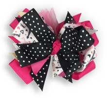Paris Heart Bow