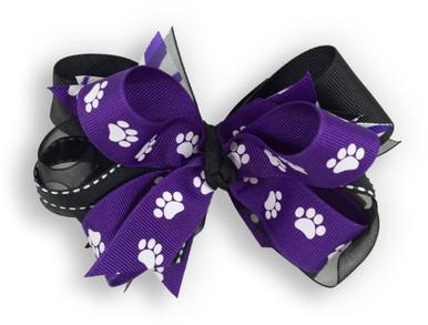 Paw Pride Purple Bow