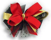 Santa Buckle Tie Bow