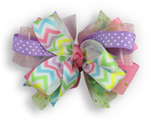 Spring Patchwork Cross Bow
