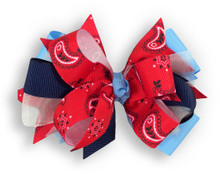 Texas Flag Bow