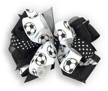 Soccer Ball Bow