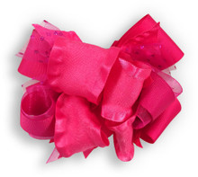 Solid Hot Pink Bow