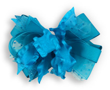 Solid Turquoise Bow