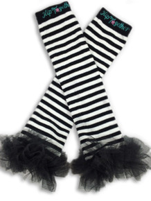 Black & White w/Black Tutu Leggings