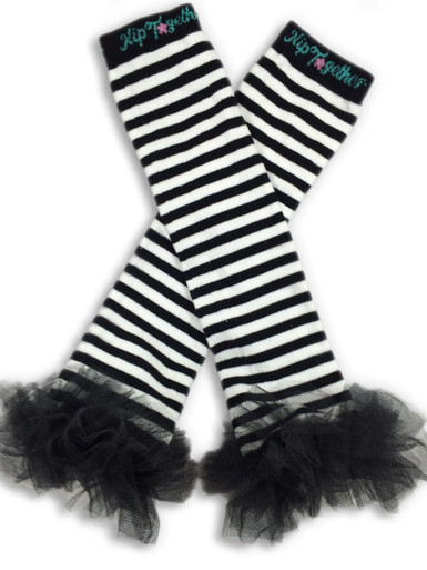 Black & White w/Black Tutu Leggings
