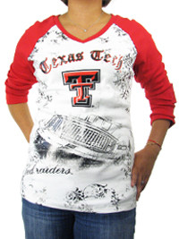 Texas Tech Raglan