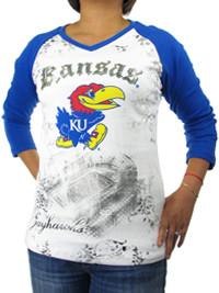 University of Kansas (KU) Raglan