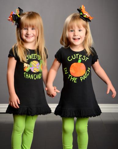 Sweeter Than Candy Dress & Cutest Pumpkin Dress