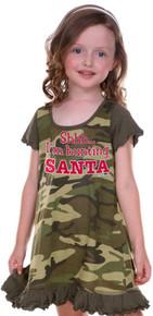 Shhh... I'm Hunting Santa Dress
