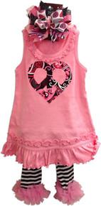 Peace Heart Dress