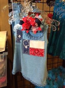 Texas Flag Dress