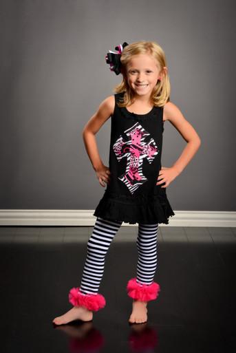 Zebra & Pink Cross Dress