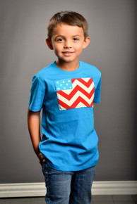Chevron Flag Boy's Tee