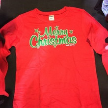 Merry Christmas Boy's Tee