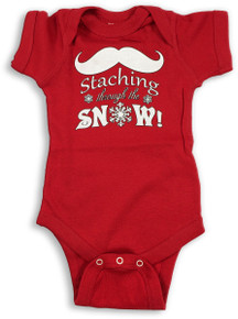 Staching Snow Onesie