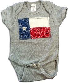 Texas Flag Onesie