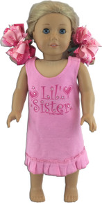 Lil' Sister Doll Dress