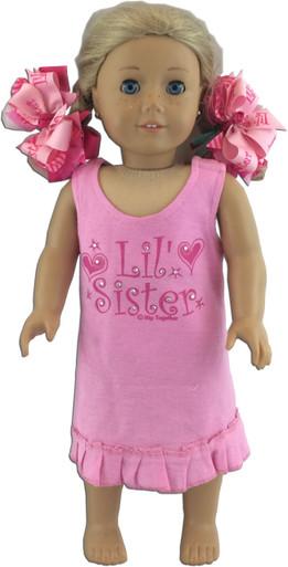 Lil' Sister Doll Dress