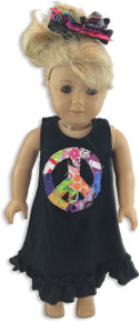 Patchwork Peace Doll Dress