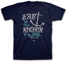 Jesus Is The Anchor Of My Soul Women's Kerusso Tee