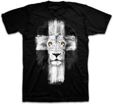 Kerusso Lion Cross Christian Tee