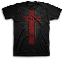 Kerusso Salvation Cross Christian Tee