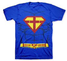 Jesus Is My Super Power Superman Parody Kids Kerusso T-Shirt