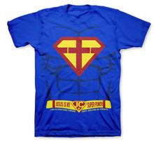 Jesus Is My Super Power Superman Parody Kids Kerusso T-Shirt