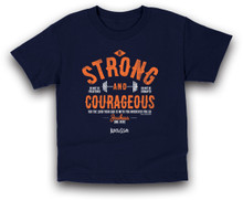Be Strong and Courage Kids Tee by Kerusso