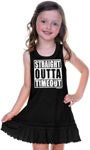Straight Outta Timeout Dress