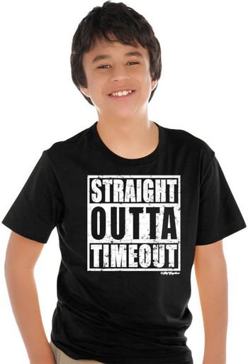 Straight Outta Timeout Boys Tee