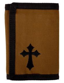Kerusso Brown Cross Wallet