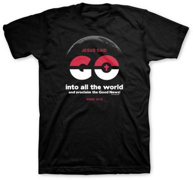 Kerusso Go Into All The World UnisexTee - Parody of Pokemon Go
