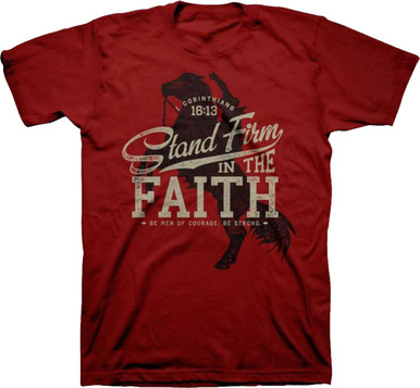 Kerusso Stand Firm In The Faith Christian Shirt