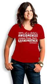 Awesome Grandmother Burnout
