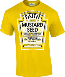 Faith as a Grain of Mustard Seed Unisex Tee