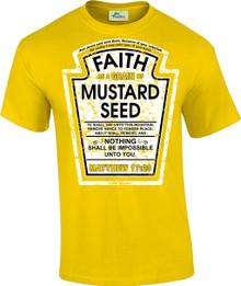 Faith as a Grain of Mustard Seed Unisex Tee