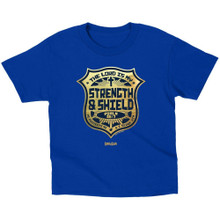 Kerusso The Lord Is My Strength & Shield Kids T-Shirt