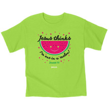 Kerusso Jesus Thinks I'm One In A Melon Kids T-Shirt